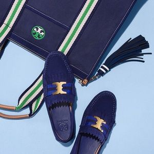 Tory Burch Gemini Link Driver Loafers 7